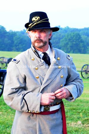 Battle of Bull Run - Capt 4th Reg't Virginia Inf, Co A