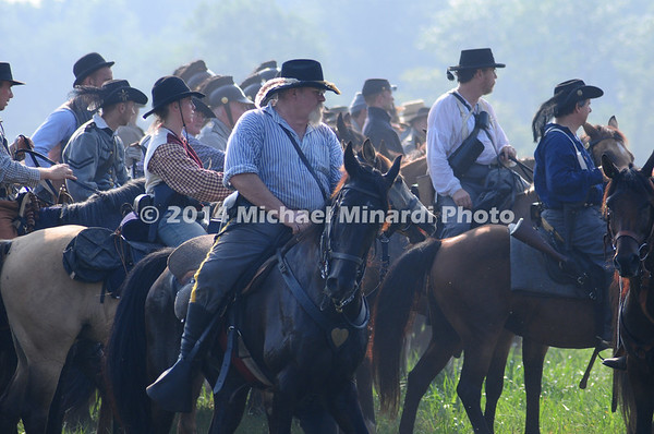 Battle of Bull Run - Confederate Cavalry - close up