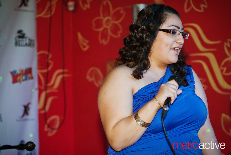 Crescencia Sanchez explains the Bill Wilson Center's services for at-risk youth.<br /> <br /> Photo by Jessica Shirley-Donnelly, JRSD Photography
