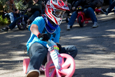 Annual bigwheel race in San Francisco