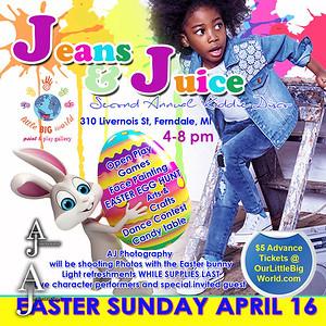 Jeans & Juice April 16, 2017