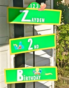 Zayden's 2nd Birthday