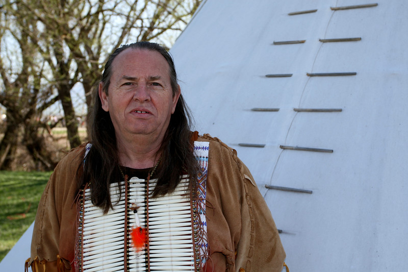 Ed will be interpreting our Native American site during the summer.