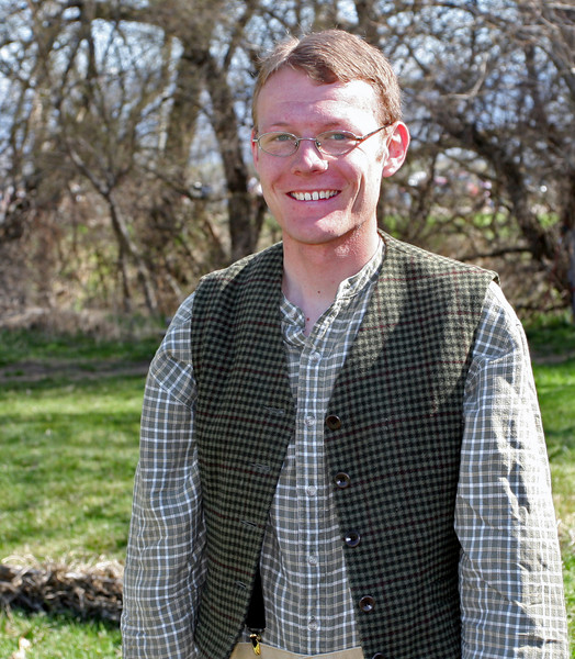 Matt will be helping out at the Pioneer Settlement this summer during Daily Adventures!