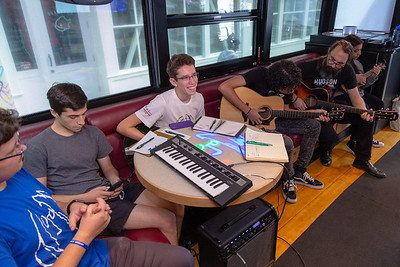 2019_10_02, Bus, Hudson High School, Interior, New York, New York City Lab School, NY, Student Session, Yamaha, Rob McMahon