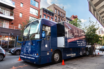 2019_10_02, Bus, Hudson High School, New York, New York City Lab School, NY, Student Session, Exterior, Establishing