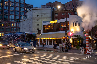 2018_10_09, Baby Brasa, Bus, Establishing, Exterior, New York, NY