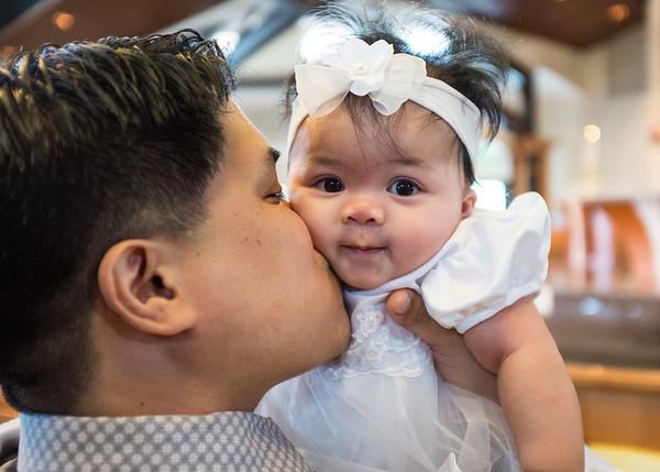 Baby London's Baptism