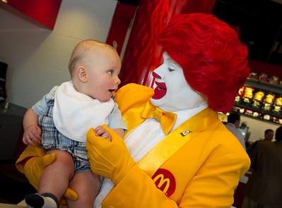 Baccarat at McDonalds in Las Vegas