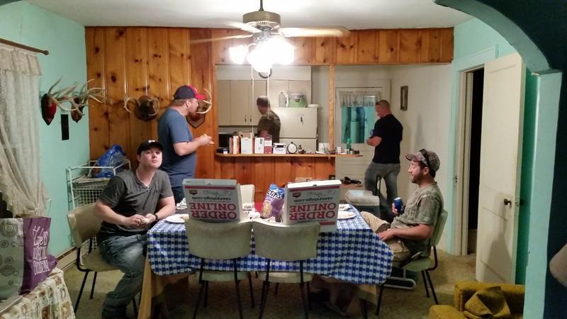Bachelor Party - Ricky's Cabin