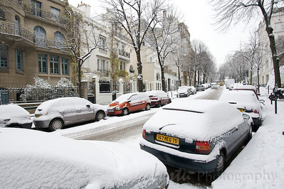 Paris sous la neige