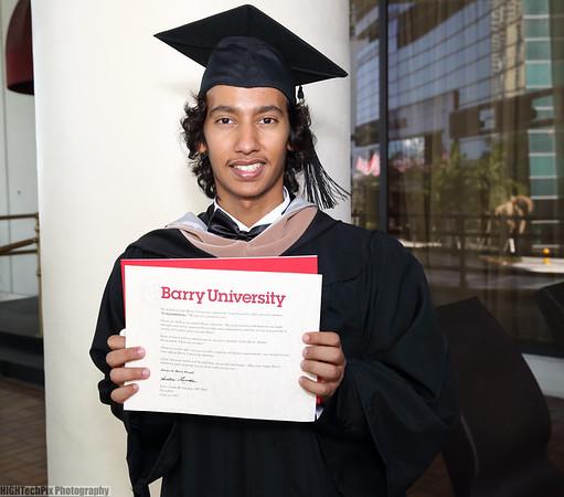 Bajeri Graduation At The Miami Hyatt Regency