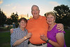 Ruth Disinger ('69), Tom Disinger ('65) and Tom's wife, Barbara Shallcross Disinger ('65) enjoying the 2011 Baldwinsville Alumni weekend presented by the C. W. Baker Alumni Association at Paper Mill Island in Baldwinsville, New York on Friday, August 5, 2011.