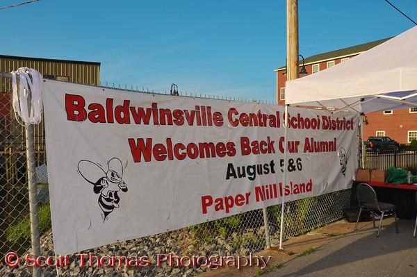 2011 Baldwinsville Alumn weekend presented by the  C. W. Baker Alumni Association at Paper Mill Island in Baldwinsville, New York on Friday, August 5, 2011.