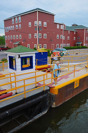 Mid-Lakes Navigation Lunch Cruise on the Seneca River during the 2011 Baldwinsville Alumni weekend presented by the  C. W. Baker Alumni Association on Saturday, August 6, 2011.