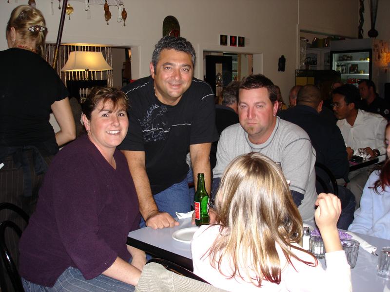 Dingo Joe with Shazza's family