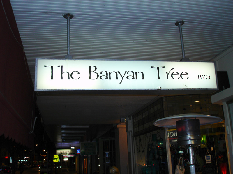 The Banyan Tree restaurant, Hamilton, Newcastle.