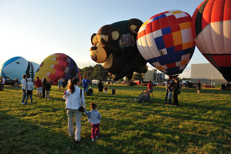 International Hot Air Ballon Festival, Montgolfières , Saint Jean Sur Richelieu, Canada