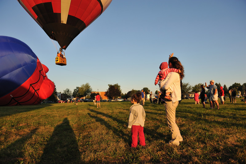 International Hot Air Ballon Festival, Montgolfières , Saint Jean Sur Richelieu, Canada
