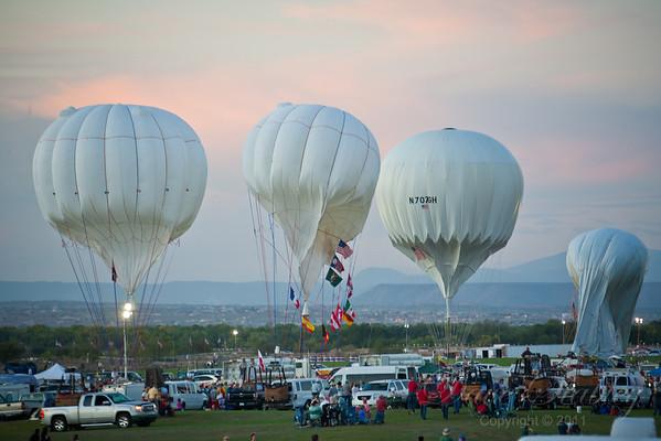 Balloon Fiesta 2011 - Glow