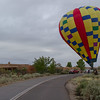 Ski Lift Balloon from Pineville, Louisiana, landing on Todos Juntos Road across from our house.  Welcome to Corrales!