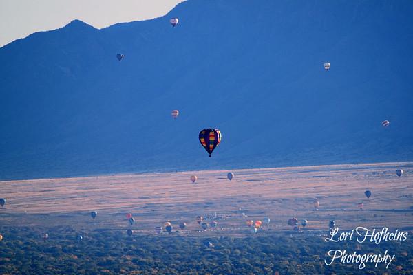 Albuquerque Balloon Fiesta 2012