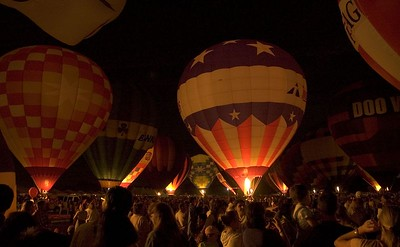 Balloon Glow Sept. 2004