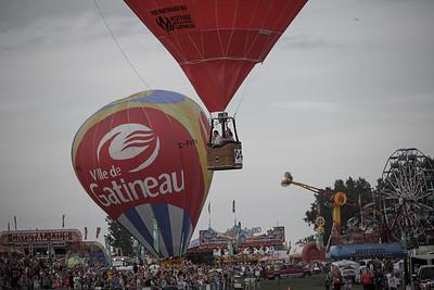 Balloon Festival, Gatineau Quebec (2013)