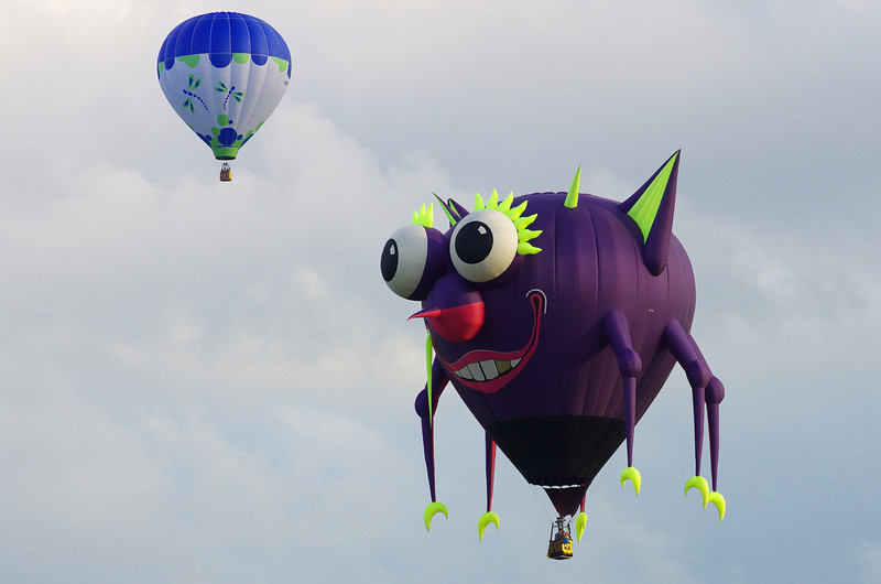 The Purple People Eater!