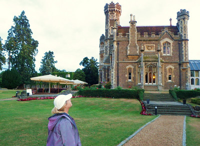 Oakley Court is a popular place for weddings.  Four of them took place on the main grounds during our weekend stay!