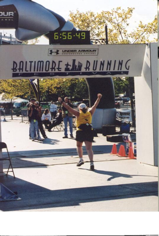Way Back Machine: I ran a marathon!