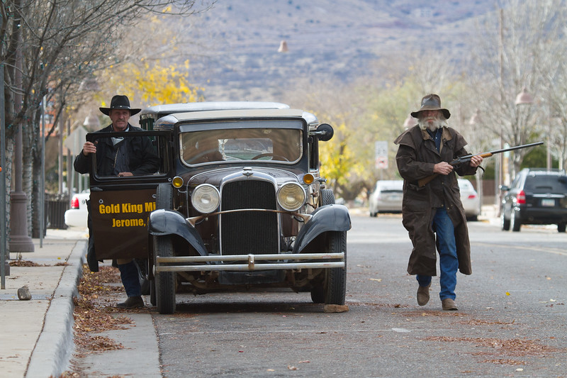 Bank Robbery od 1928, Re-enactment,  12/13/14