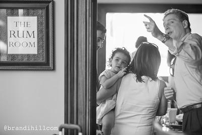Joshua, Jeremiah & Jillian's Baptism Luncheon at Ponte Vedra's Pussers