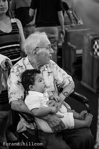 Joshua, Jeremiah and Jillian's Baptism at St. Paul's Catholic Church of Jacksonville Beach