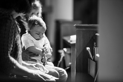 Baby Liam Grimsley's Baptism