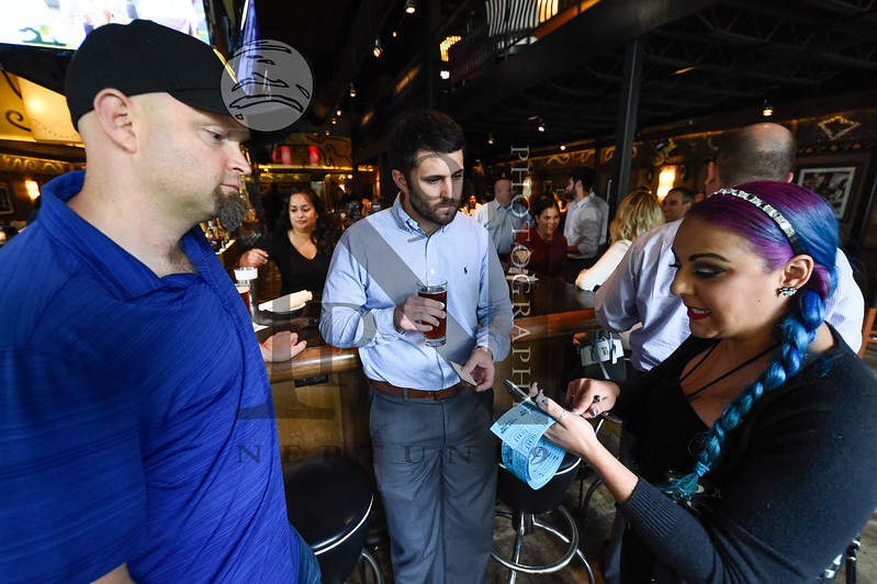"""SA Current magazine hosted a Voting Party for Bar Louie at La Cantera for the Best of San Antonio Competition on March 28, 2017. Numerous patrons voted and several won Bar Louie's door prizes. Gallery: <a href=""""http://smu.gs/2onNA6w"""">http://smu.gs/2onNA6w</a>"""