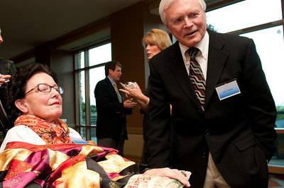 Don and Barbara Hodel were the guests of honor in a reception October 9, 2009 for the dedication of the Barbara Hodel Center at Patrick Henry College. On October 10, 2009 the college held a dedication ceremony for the new building which was attended by approximately 1,000 people and featured evangelical leader James Dobson of Focus on the Family as the keynote speaker.