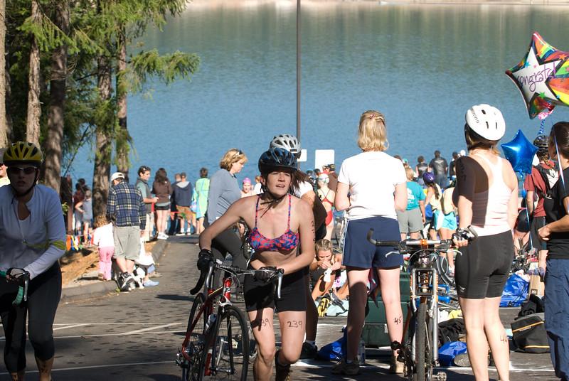 Barbara Schmidt  Millar  Triathlon 2007