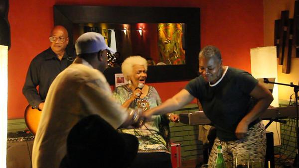 "Linda Morgan Dances to ""Down Home Blues"""
