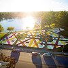 Barberton's 26th annual Mum Festival <br /> 17,000 Chrysanthemums create over a million mum blooms in a rainbow of color at Barberton's Lake Anna Park.