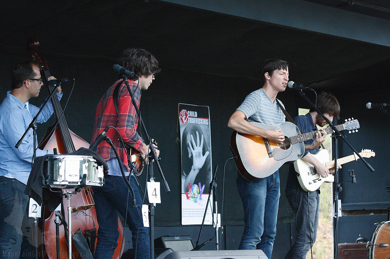 The Farewell Drifters play at Barefoot Bluegrass & BBQ, August 4, 2012.  Conifer Community Park at Beaver Ranch.