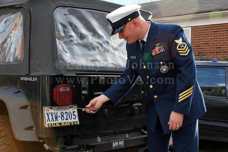 Yorktown Event Photography - Military Retirement