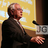 Congressman Barney Frank<br /> John Tishman Auditorium at The New School<br /> New York City, USA - 06.04.13<br /> Credit: J GRASSI