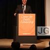 Congressman Barney Frank<br /> John Tishman Auditorium at The New School<br /> New York City, USA - 06.04.13<br /> Credit: J GRASSI