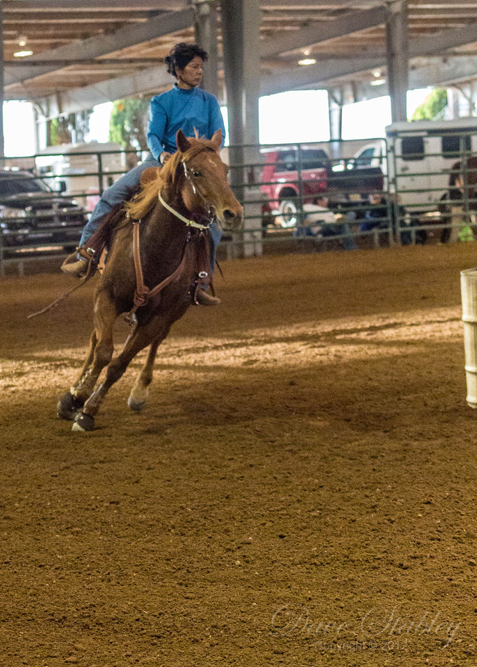 Barrel Racing-7195