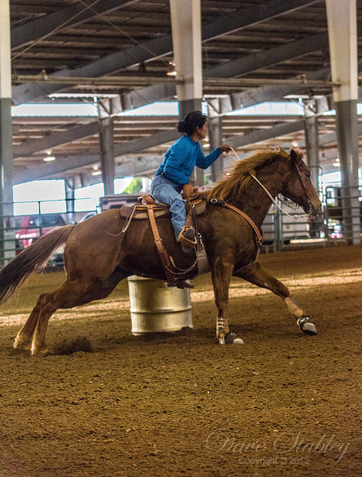 Barrel Racing-7199