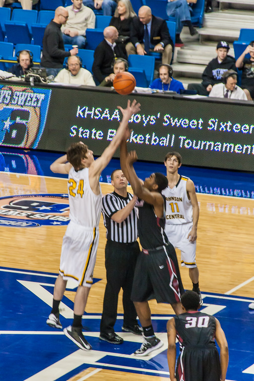 Round 1 - Kentucky Sweet Sixteen - Johnson Central vs Ballard