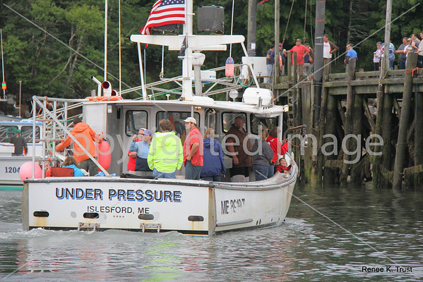 Bass Harbor Lobsterboat Races 2012