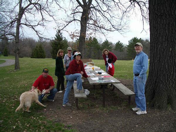Bassett Creek Cleanup 2007