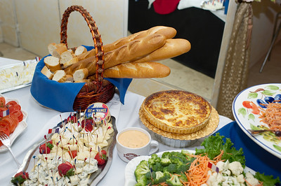 Bastille Party at Normandie Banquet room in Normandie Bakery by Chef Josette LeBlond at her bakery in Los Angeles. Normandie Bakery information 5277 W. Jefferson Ave., Los Angeles, CA 90016 (323) 939-5528